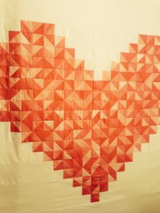 Quilt crazy with half square triangles!